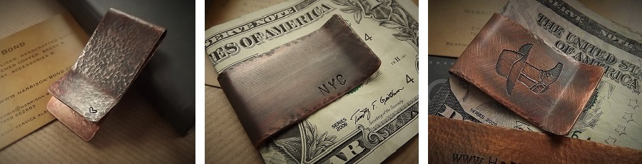 Personalised Money Clips