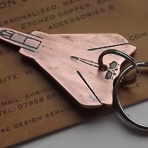 aircraft key ring