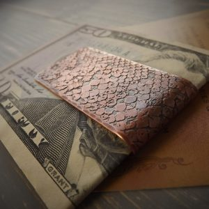 Snake Skin Money Clip