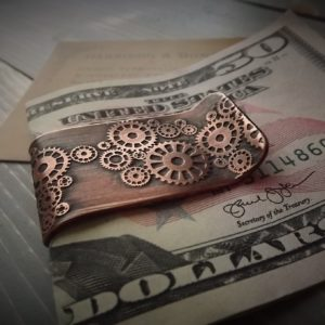 Steampunk Money Clip