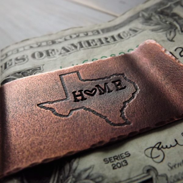 Home State Money Clip