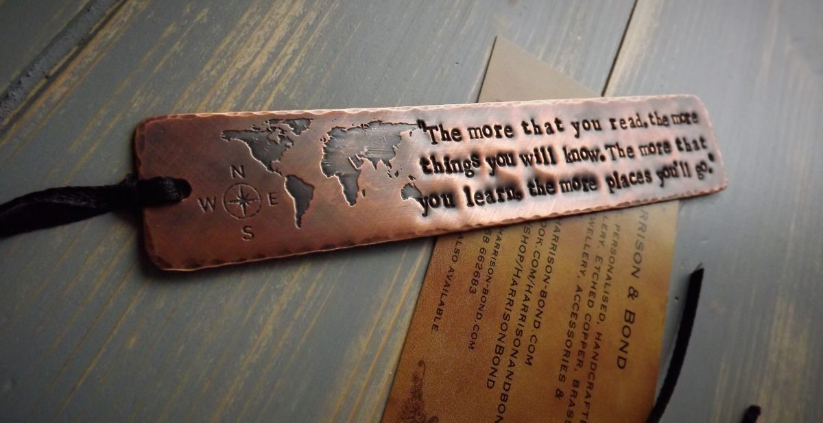 Dr seuss quote world map bookmark travel reader gift dr seuss bookmark gumiabroncs Choice Image