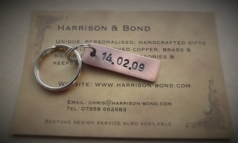 Wedding Anniversary Gifts 7th Copper Harrison Bond